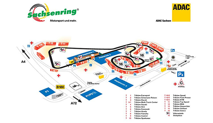 Sachsenring, Germany